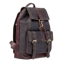 Visconti Rhino ( Oil Brown )   -   Large Leather Backpack